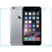 100Sets of Front + Back Tempered Glass Screen For iPhone 6s 4.7″ 2.5D 0.26mm Arc Edge Screen Protector Film With Packing