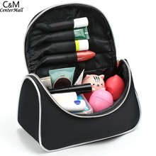 Make Up Organizer Bag Women Men Casual Travel Bag Multi Functional Cosmetic Bag Storage Bag Handbag(China (Mainland))