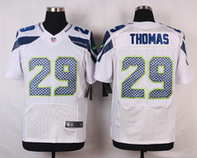 Seattle Seahawks #88 Jimmy Graham Elite White and Steel Blue Team Color free shipping(China (Mainland))