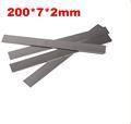 milling cutter drill bits High speed steel 200x7x2mm HRC 60 HSS steel