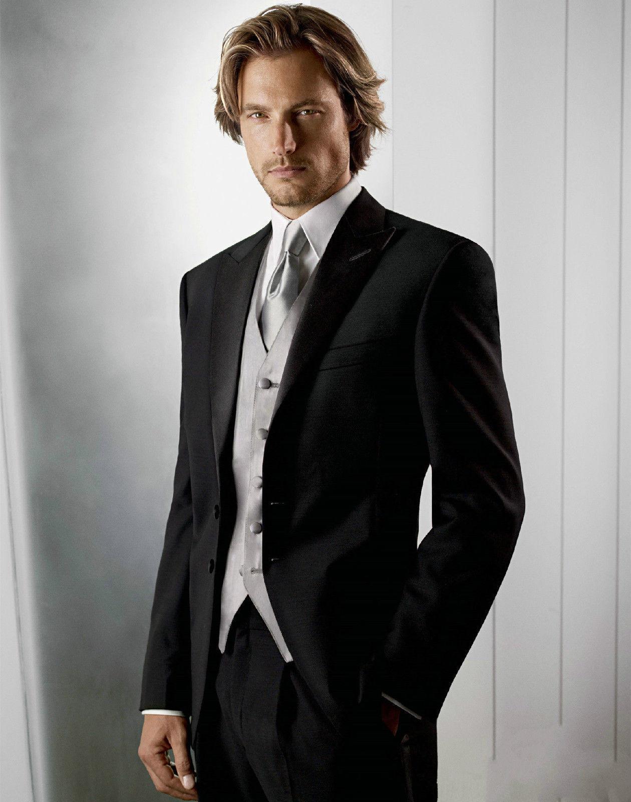 trajes para hombre mens white suits for weddings  wedding costume men BM529Одежда и ак�е��уары<br><br><br>Aliexpress