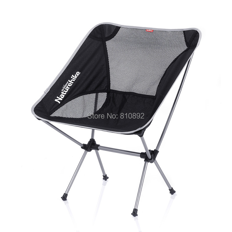 Naturehike Portable Aluminium Alloy Chair Outdoor Camping Chair Fishing Chair
