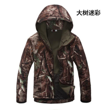 TAD Gear Tactical Soft Shell Camouflage Outdoor Jacket Set Men Army Sport Waterproof Hunting Clothes Set Military Jacket