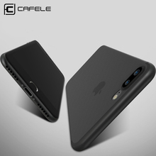 CAFELE Original No-Fingerprint Ultra Thin Phone case for iphone 7 cases flexibility Simple PP Scrub cover for iphone 7 plus(China (Mainland))