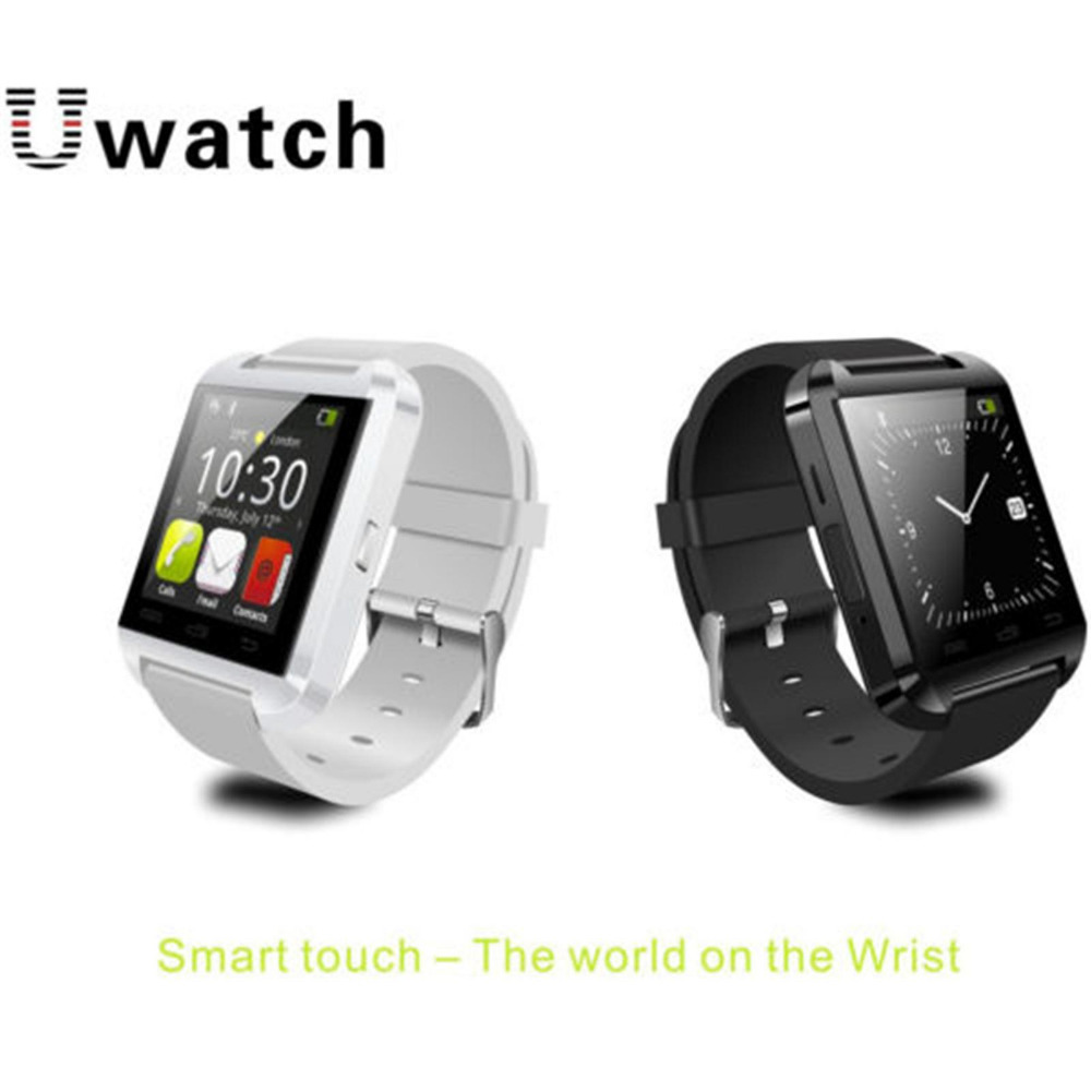 free shipping Hot sales Bluetooth V3.0+EDR U8 Bluetooth Watch For IOS phone S4 5 Android Cell Phone Support 13 Language(China (Mainland))