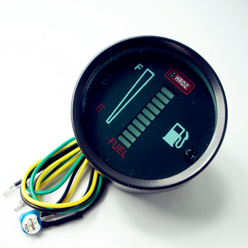 Electronic Gas Gauge : Automobile car dashboard modification accessories d