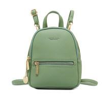 Atinfor бренда из искусственной кожи Для женщин Анти-кражи мини-рюкзак для девочек-подростков маленький рюкзаки(China)