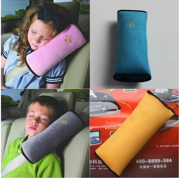 Baby seat belt cover auto car safety shoulder pad child head pillow  -  Most Economic shop store