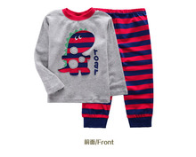 Kids Pajama Set  Kids Clothes boys girls sleepwear pyjamas Babys Sleepwear Cotton  Girls Clothing  Baby t shirt pants sleep set(China (Mainland))