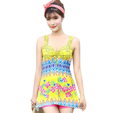 Floral Print Women's Swimsuits Push Ups One Piece Bodysuits For Women Cover Ups Patchwork Swimsuit Ropa De Bano Mujer DA29