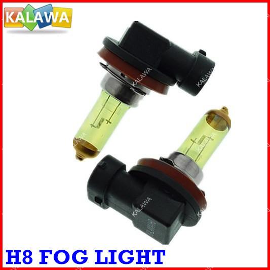 4pcs /lot Amber/Yellow H8 Xenon Halogen Light Bulbs 12V 55W Auto Headlight Headlamp Fog light Free Shipping^GG03<br><br>Aliexpress