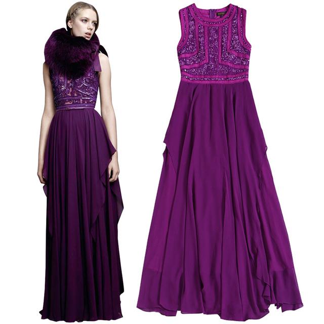 maxi dress hem length