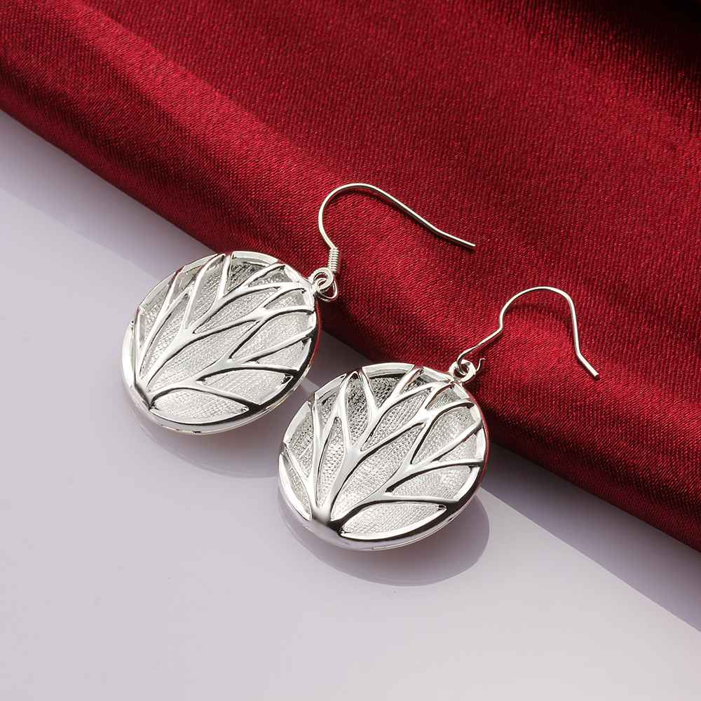 Free Shipping Online Shopping India Silver Earring Sand Round Cattle Drop  Brincos De Festa Costume Jewellery