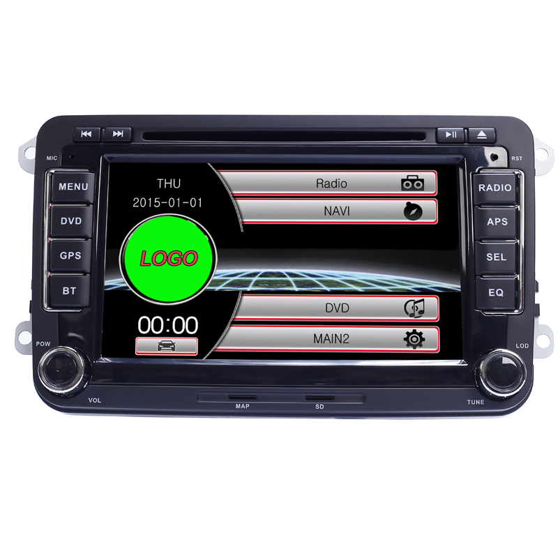 Capacitive Screen! Two Din 7 Inch Car Radio For Seat/Altea/Leon/Toledo/VW/Skoda Wifi 3G Host Video RDS GPS BT 1080P Free Map(China (Mainland))