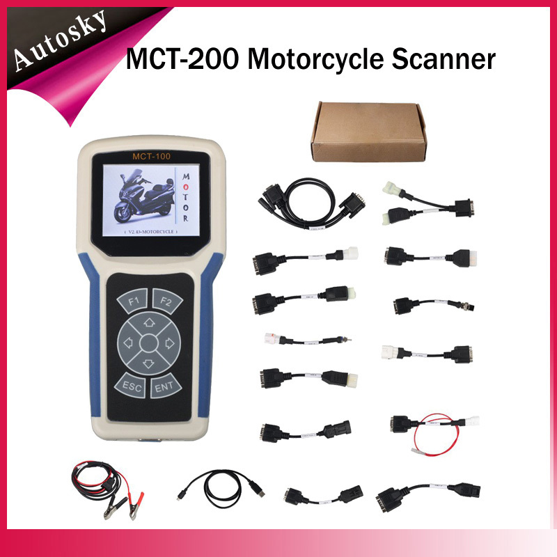 2015 New Released MCT200 Professional Motor Diagnostic Tool For Motorcycle MCT-200 Motorcycle Scanner Tool Easy to Update(China (Mainland))