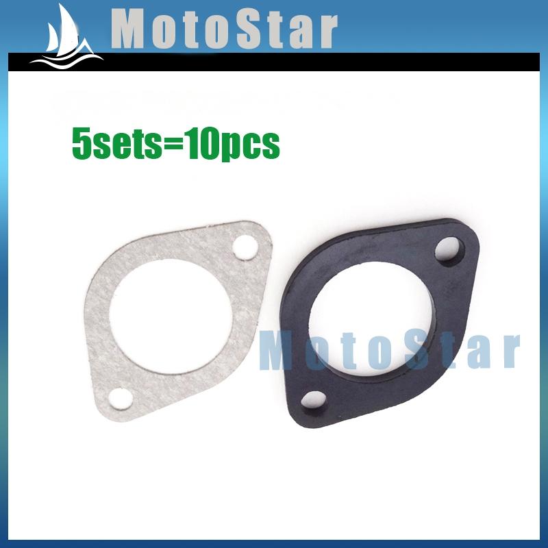 5x Carburetor Manifold Intake Inlet PipeSpacer Seal 30mm Gasket For Pit Dirt Bike Motorcycle 150cc 160cc 250cc Engine(China (Mainland))