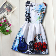 Kids Clothing Summer Dresses Girls Summer Style Girl Dress Floral Print Jacquard Birthday Party Sundress Baby Children Clothes