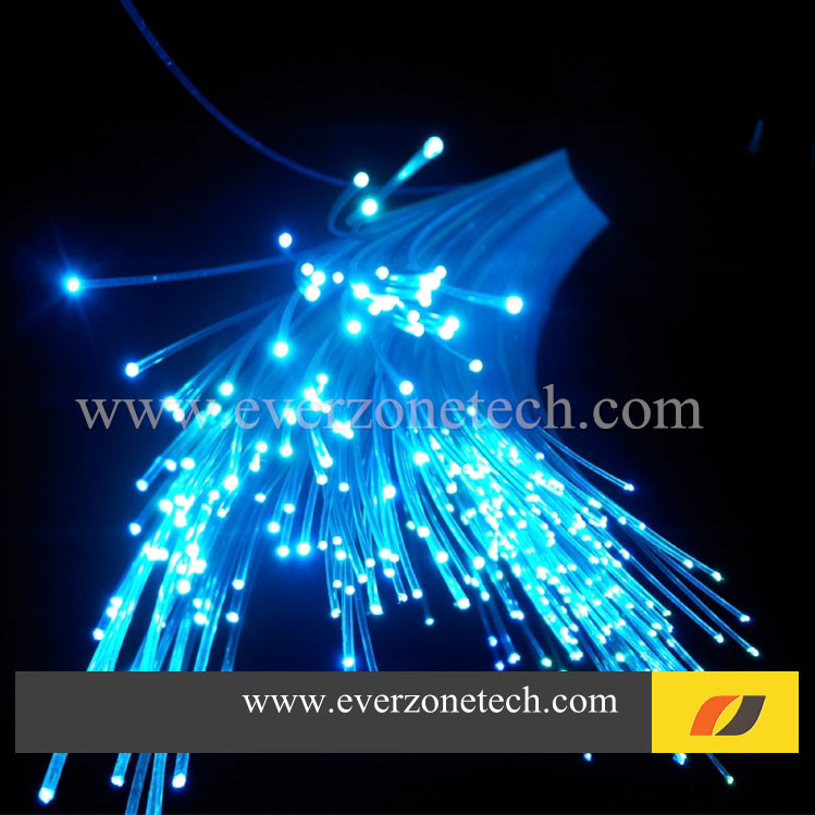 High quality 1.5mm diameter 700m/roll bare PMMA fiber optic cable end glow for decoration lighting,plastic optal fiber cable(China (Mainland))