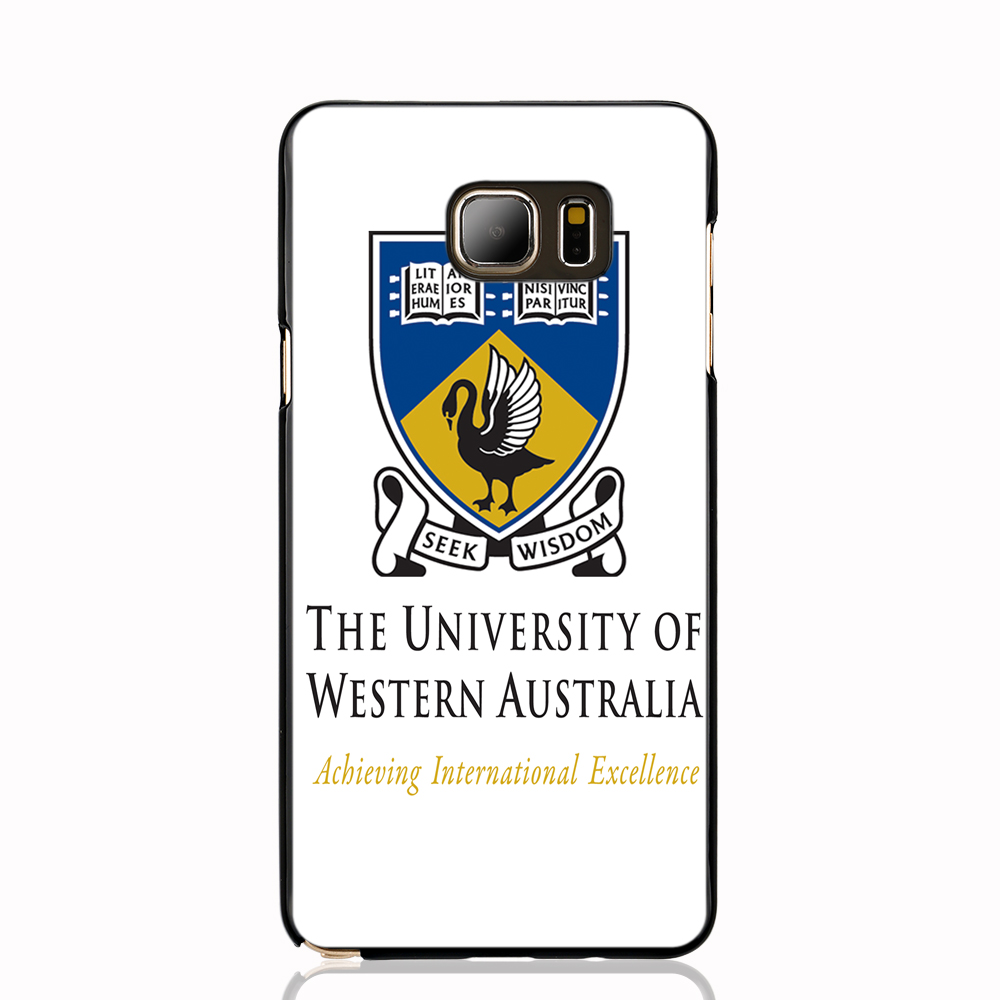 12460 University of Western Australia cell phone case cover for Samsung Galaxy Note 3,4,5,E5,E7 CORE Max G5108Q(China (Mainland))