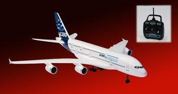 Freeshiping Hot sale High quality EPO materials transporters  plane A380 Remote control plane RC plane(big model)