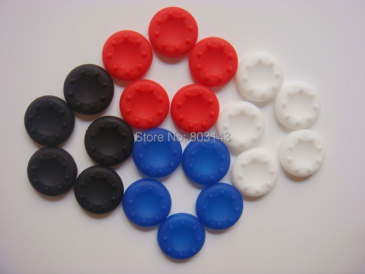 2 Rubber Silicone Thumbstick Thumb Sticker Cover Cap Joystick Grips PS4 XBOX360 PS3 PS2 Wireless Controller - TOPWin video game repair store