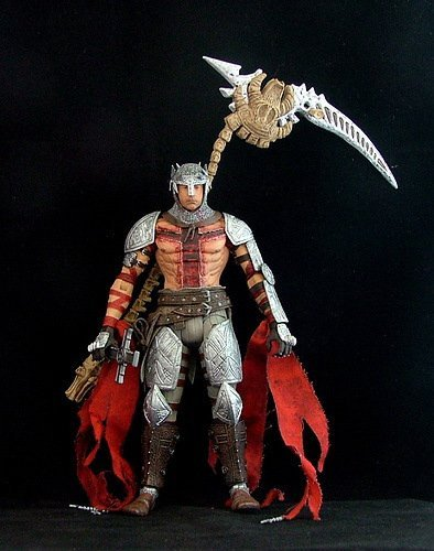 "NECA PS3/XBOX GAME ""DANTE'S INFERNO"" 7"" ACTION FIGURE"