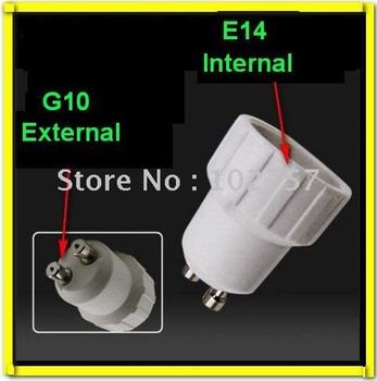 Free shipping GU10 to E14 LED Halogen CFL Light Lamp Bulbs socket Adapter Converter