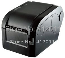 Free Shipping! 3~5inch/s Serial+USB Direct Thermal Line Barcode Printer For POS System(China (Mainland))