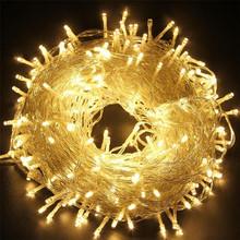 50M 400 Fairy LED String Light Outdoor Waterproof AC220V Chirstmas String Garland For Xmas Wedding Christmas Party Holiday(China (Mainland))