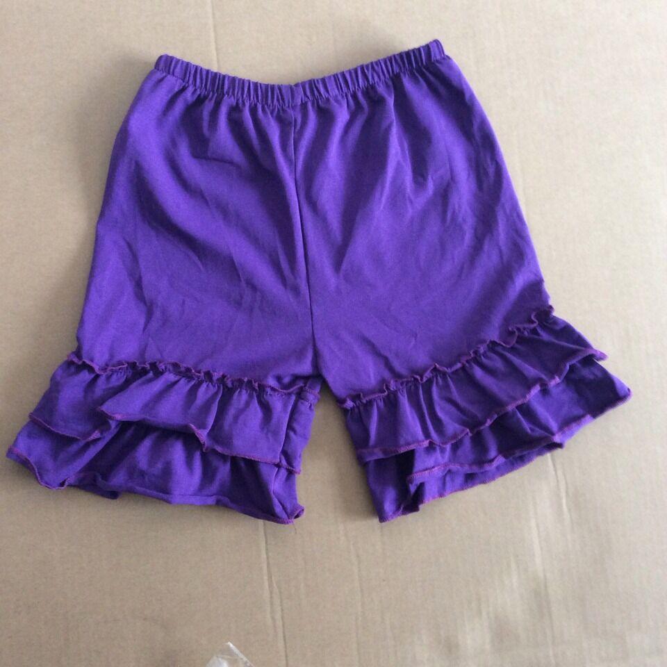 girls Summer solid short cotton baby short new design children knit kids short china factory wholesale baby ruffle shorts<br><br>Aliexpress