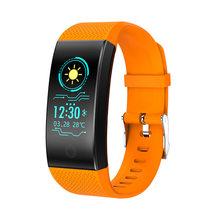 BANGWEI Relógio Das Mulheres Dos Homens de Fitness Inteligente Pedômetro Monitor de Freqüência Cardíaca À Prova D' Água IP68 Natação Correndo Esporte Relógio Para IOS Android(China)