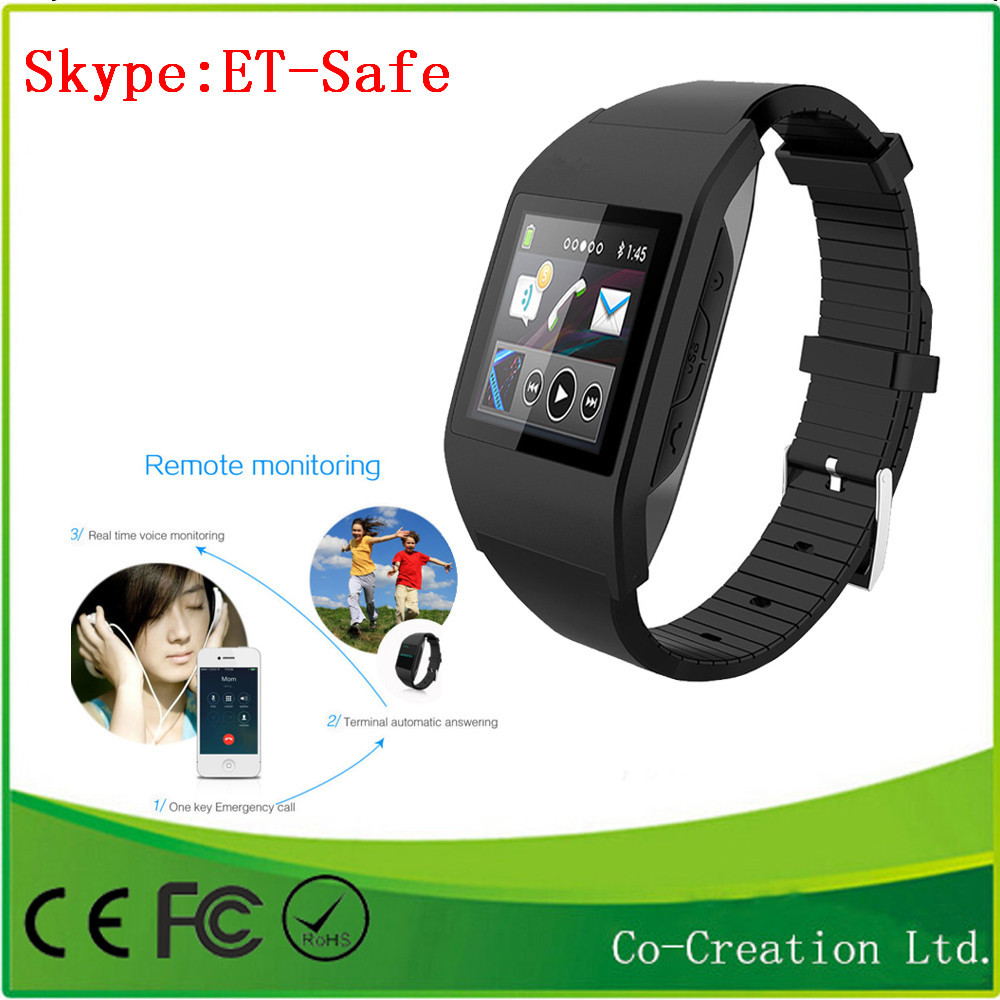 Hot Sale New Mini GPS GSM Positioning Tracker Watch GPS PC/Mobile phone/SMS Tracking For Kids Smart Watch Tracker Fee Shipping(China (Mainland))