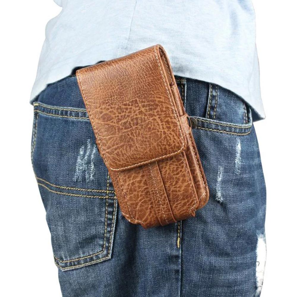 Vertical Horizontal Man Belt Clip Mobile Phone Cases Pouch Outdoor Bags Asus Zenfone 2 Deluxe ZE551ML Laser ZE550KL  -  OEMCity Lyn store