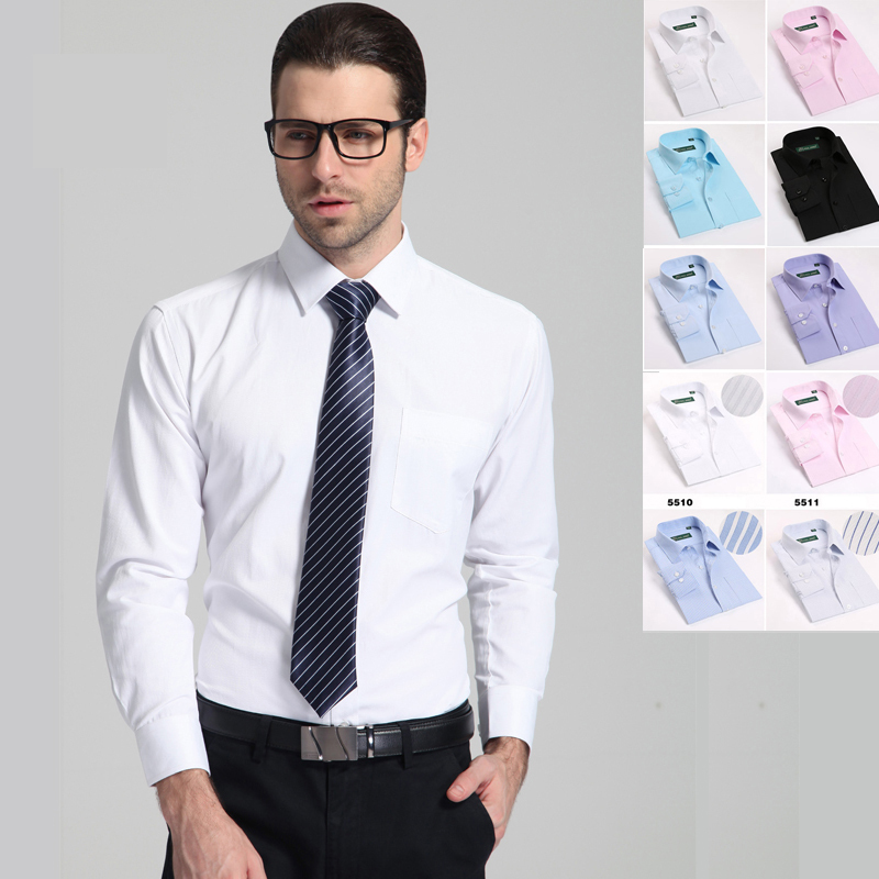 2015 men s brand shirt mens long sleeve dress shirt men for Men s classic dress shirts