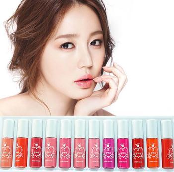 12 pcs/set Different colors etudehouse lipgloss brand makeup Women's lip gloss HOT Selling 2013 free shipping(China (Mainland))