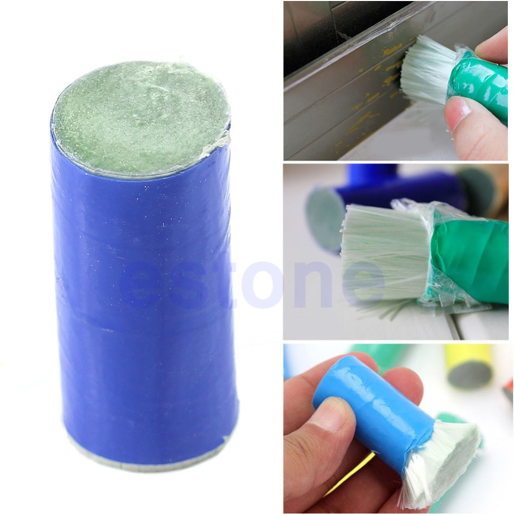 2pcs Stainless Metal/Steel Rust Remover Stick Metal Rust Pan Cleaning Brush New(China (Mainland))