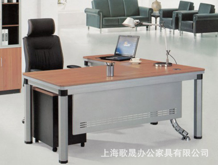 Office Furniture Factory Direct Executives Steel Table Wood Desk Shanghai Free Shipping In Axe