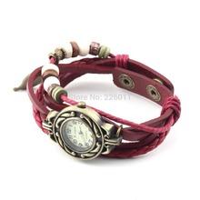 Brand New 1Pcs Watch Leaf Bracelet Watch Quartz Movement Wrist Watch Girl Women Drop Shipping Wholesale