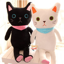 Lolita Plush Kitty 85cm Cute Soft Lop Cat Plush Couple Kitty Princess Sweet Doll Loppy Kitty Children's Gift
