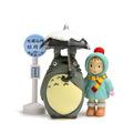 Mini Miyazaki Hayao 3pcs set 2cm 10cm My Neighbor Totoro Tonari no Totoro Toy Anime Cartoon