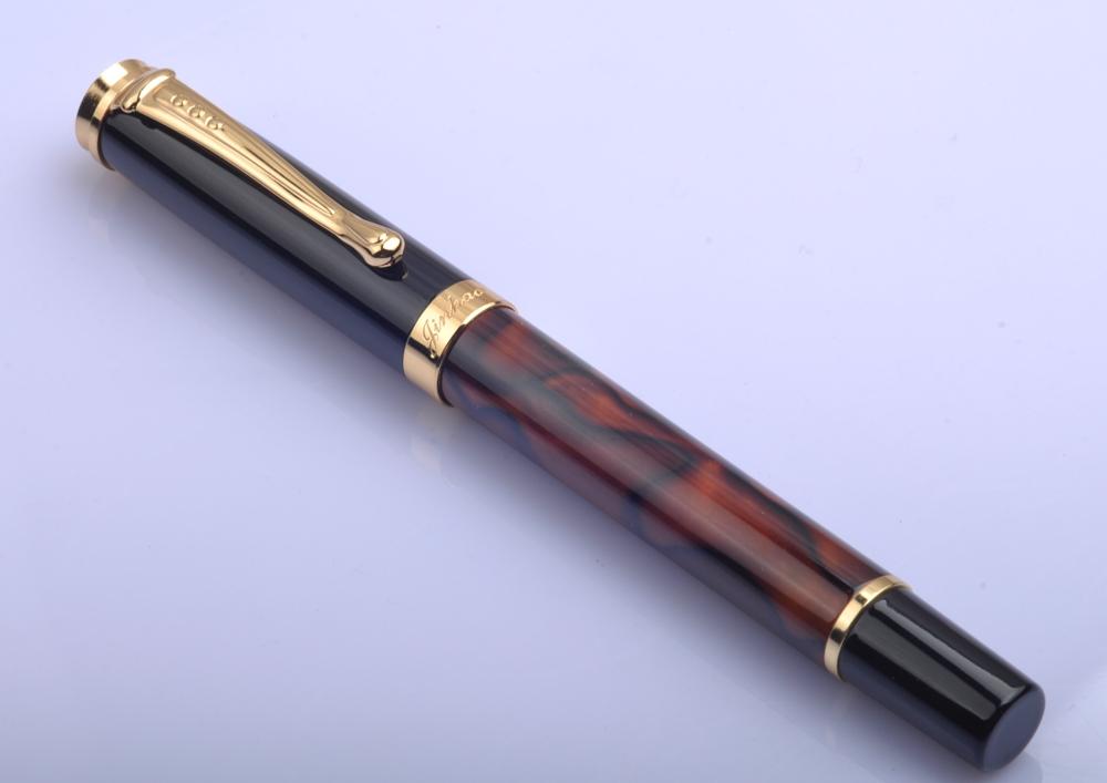 Fountain Pen Jinhao 500 Coffee Medium Nib <br><br>Aliexpress