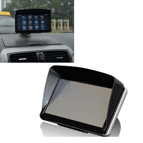 1piece gps navigation accessories 5 inch gps universal sunshade sunshine sun shade gps screen. Black Bedroom Furniture Sets. Home Design Ideas