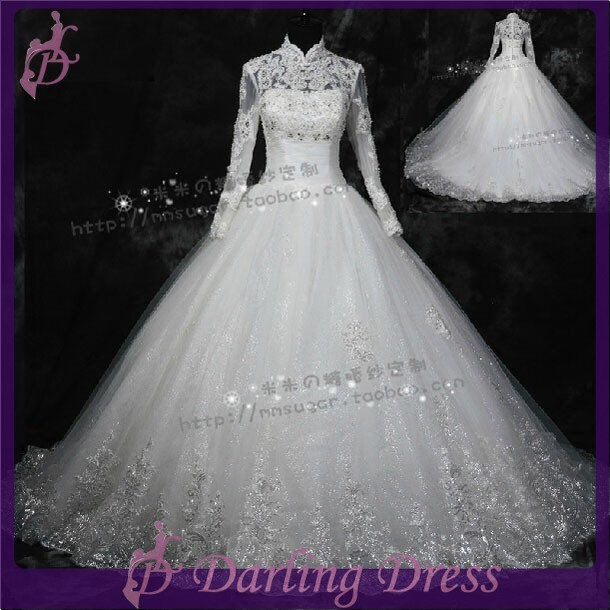 Cx186 hot sale beautiful real photo luxury beading islamic for Cheap beautiful wedding dresses for sale