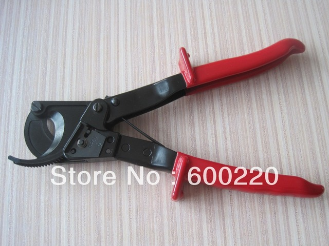 Ratchet cable cutter HS-325A,Cutting range:240mm2 max , Not for cutting steel or steel wire