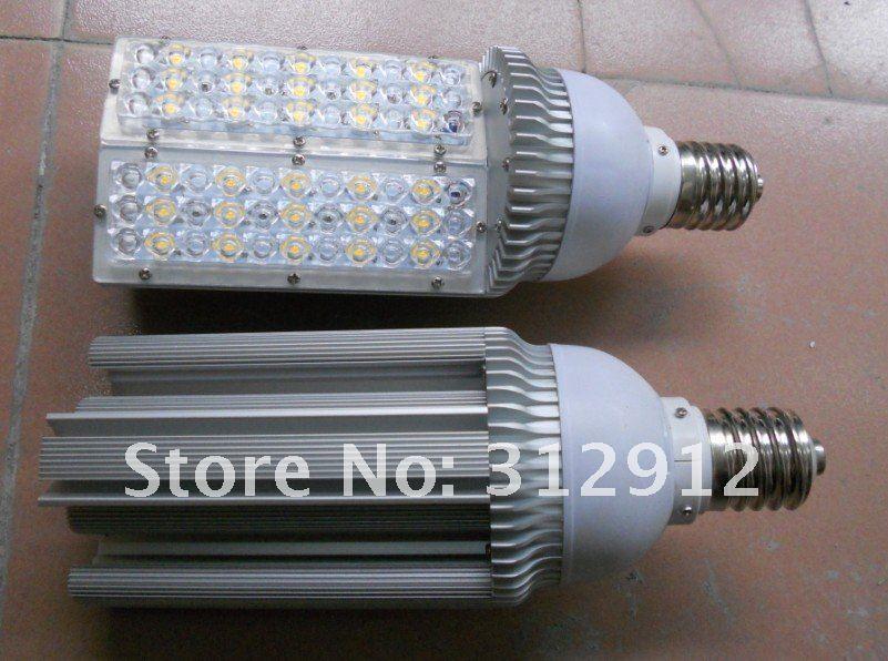 Купить E40 30 Вт из светодиодов уличный свет лампы 85 - 265 В высокой мощности холодный белый 30 * 1 Вт