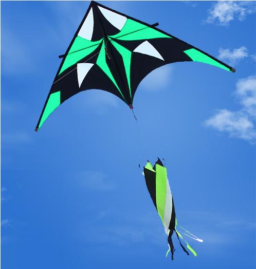 free shipping high quality phantom delta kites easy control with control bar line windsocks rainbow colorful 2.5 power kite bar(China (Mainland))