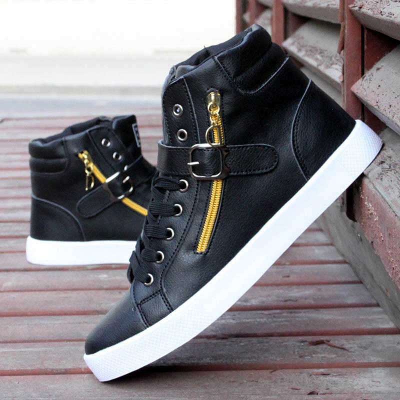 Hot-Sale-2015-New-Fashion-Men-s-Sneakers-Shoes-PU-Leather ...
