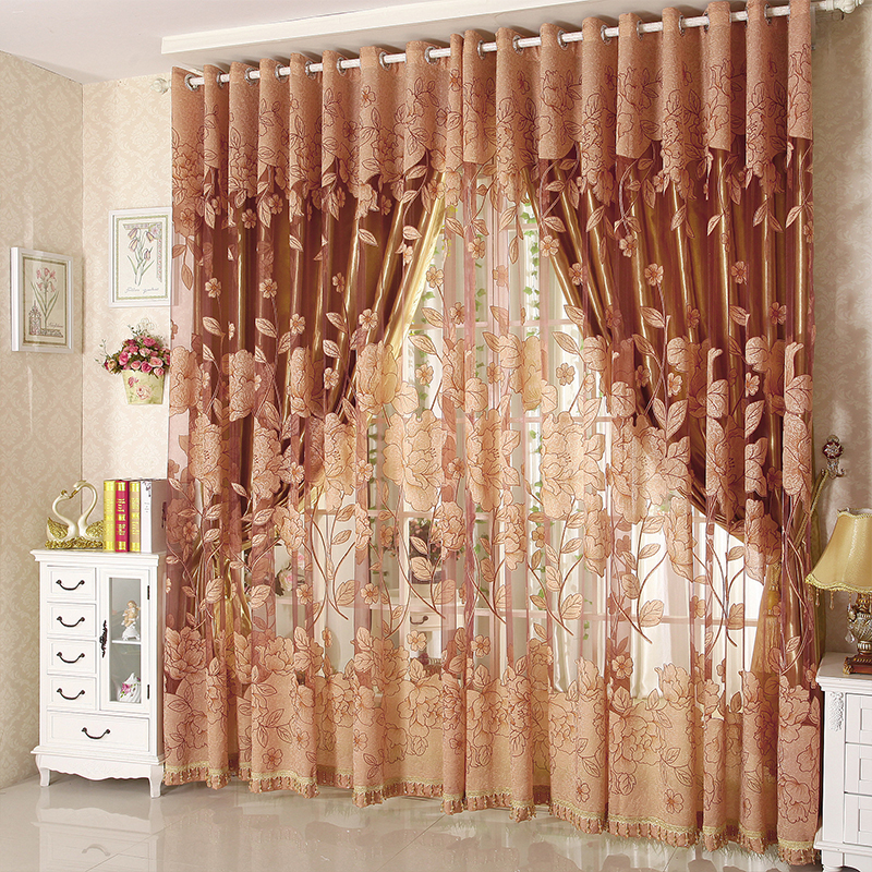 Buy hot sale tulle for windows curtain for Hotel drapes for sale