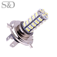 Buy Free DHL H4 68 SMD White Fog Signal Tail Driving LED Lamp Bulb Auto car led bulbs Car Light Source parking 12V 6000K Head Lamps for $243.20 in AliExpress store