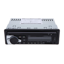 Car Audio Stereo Radio Player Receiver In-Dash FM Aux Input WMA WAV MP3 Player with SD/USB Port(China (Mainland))